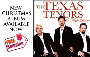 The Texas Tenors New Christmas Album