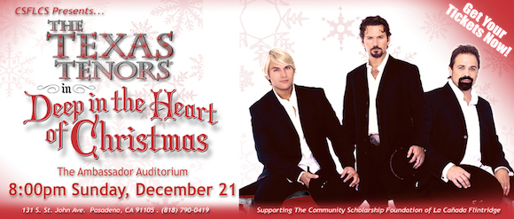 The Texas Tenors - Deep in the Heart of Christmas- Pasadena - 12/21/2014