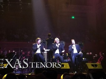 The Texas Tenors join Philharmonic for two shows