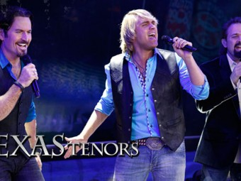 The Texas Tenors in Burlington