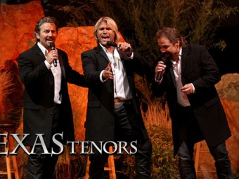 The Texas Tenors perform for Emmylou Harris