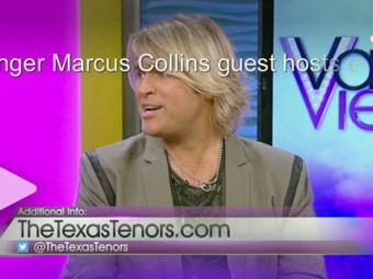 Singer Marcus Collins guest hosts on VVL!