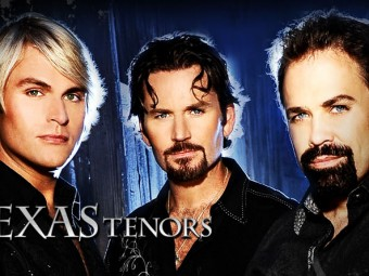 The Texas Tenors perform at Paramount Theatre