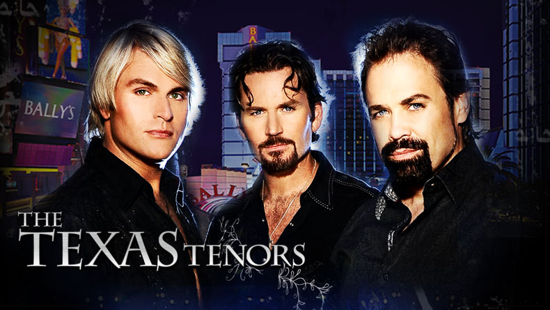 The Texas Tenors bring their hit show to Bally's Windows Showroom