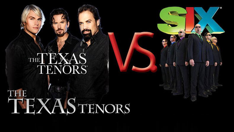 The Texas Tenors and SIX team up for Celebrity Softball