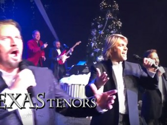 VIDEO: Over 700 Participate in The Texas Tenors Christmas Mannequin Challenge