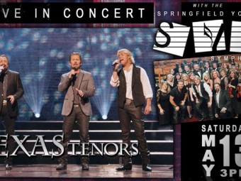 The Texas Tenors to host benefit concert for Springfield Youth Symphony