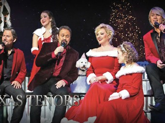 Christmas Spirit Flows With The Texas Tenors