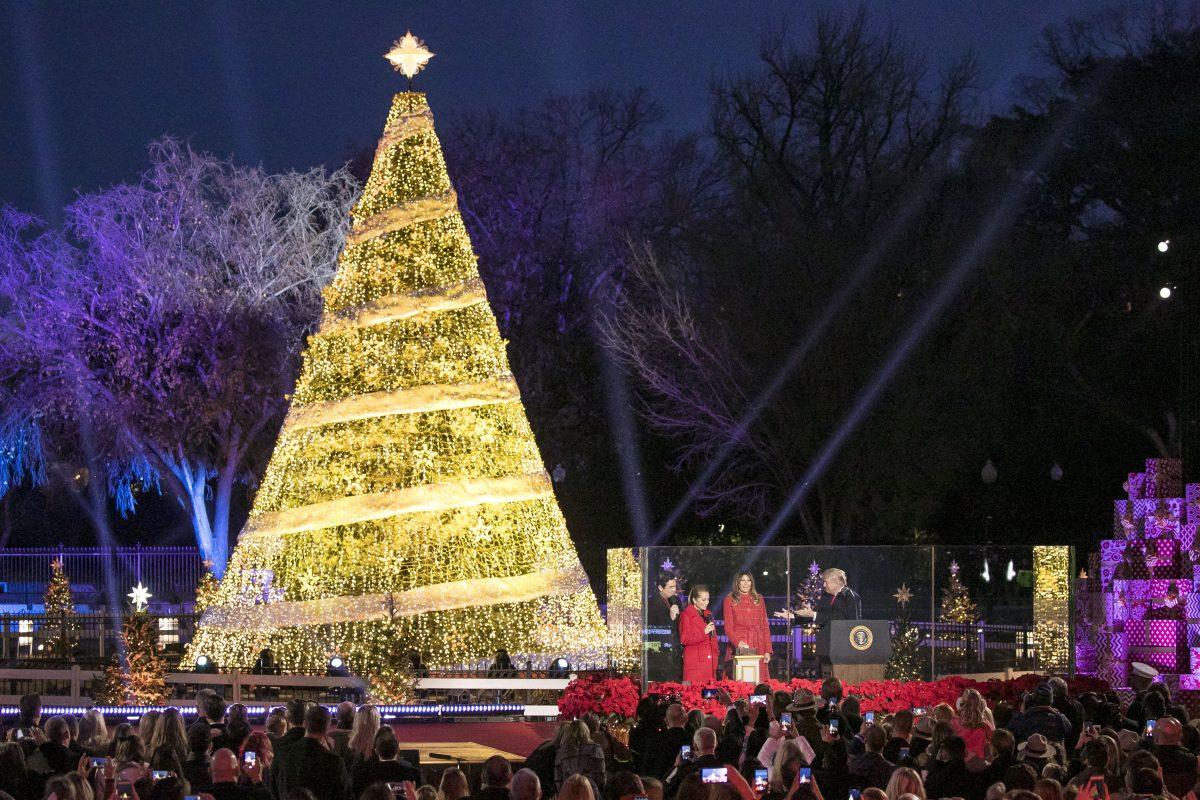 The 2017 National Christmas Tree Lighting The Texas Tenors